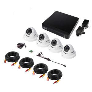 远程监控室内半球摄像头套装主图2