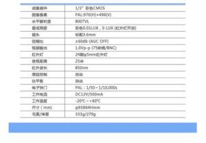 C201单机摄像头详情图4